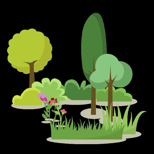 tuinaanleg en beplanting