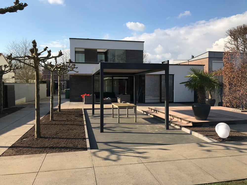 Renovatie achtertuin Villa Arnhem